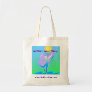 ReBoot Your Body! Tote Canvas Bag