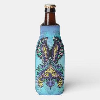 Reborn - Dark, bohemian, spirituality Bottle Cooler
