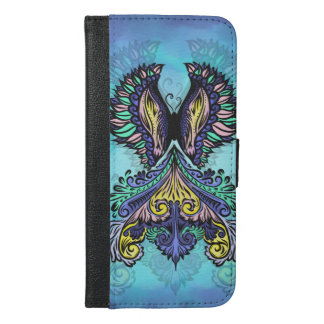 Reborn - Dark, bohemian, spirituality iPhone 6/6s Plus Wallet Case