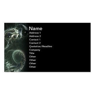 Reborn Fractal Art Business Card Template