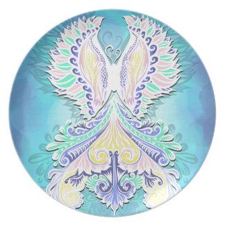 Reborn - Light, bohemian, spirituality Plate