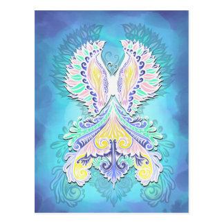 Reborn - Light, bohemian, spirituality Postcard