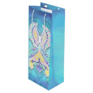 Reborn - Light, bohemian, spirituality Wine Gift Bag