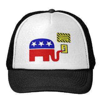 Rebuplican Government Shutdown 2011 Mesh Hats