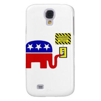 Rebuplican Government Shutdown 2011 Samsung Galaxy S4 Cover