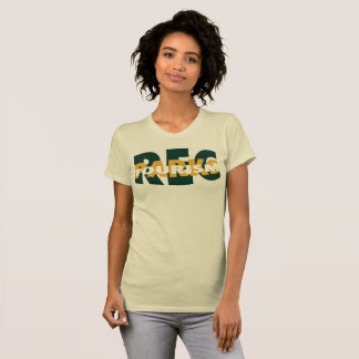 Rec Parks Tourism (Cream) T-Shirt (Women's)