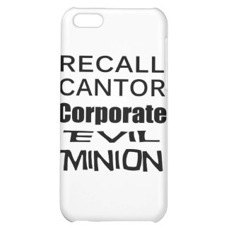 Recall Eric Cantor Koch Oil's Lap Dog iPhone 5C Cases