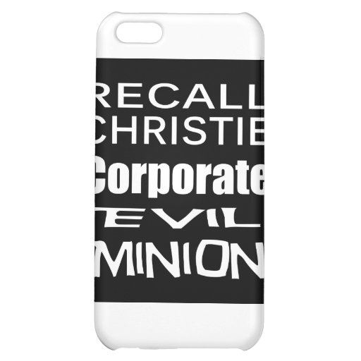 Recall Governor Chris Christie Koch Oil's Minion iPhone 5C Cover