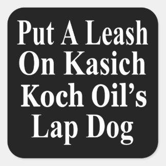 Recall Governor John Kasich Koch Oil's Minion Sticker