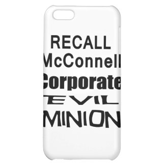 Recall Governor Mitch McConnell Koch Oil s Minion iPhone 5C Cases
