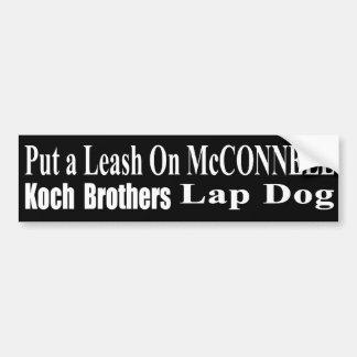 Recall Governor Mitch McConnell Koch Oil's Minion Bumper Sticker