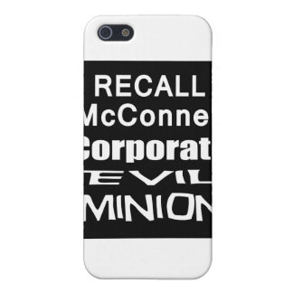 Recall Governor Mitch McConnell Koch Oil's Minion iPhone 5 Case