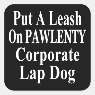 Recall Governor Pawlenty Koch Oil's  Evil Minion Sticker