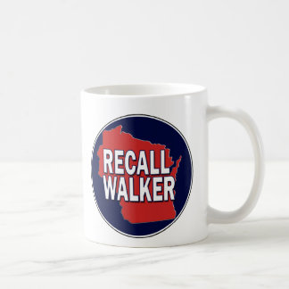Recall Governor Scott Walker Coffee Mug