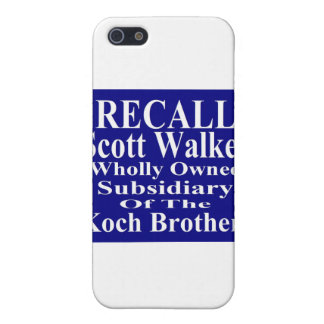 Recall Governor Scott Walker Corporate Minion Case For iPhone 5
