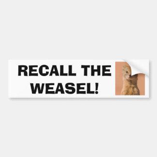 Recall Governor Walker Bumper Sticker