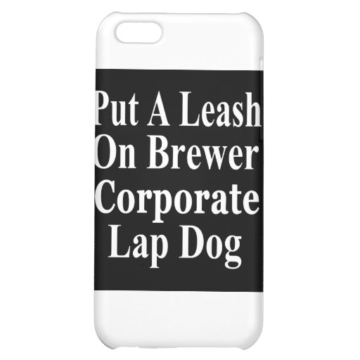 Recall Jan Brewer Evil Corporate Minion Case For iPhone 5C