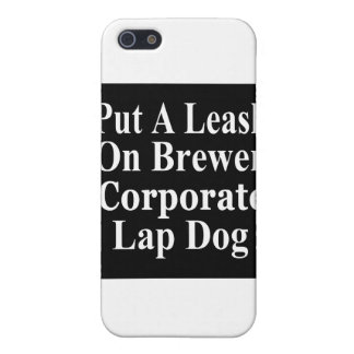 Recall Jan Brewer Evil Corporate Minion iPhone 5 Cases