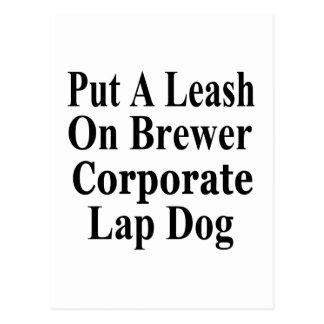Recall Jan Brewer Evil Corporate Minion Post Card