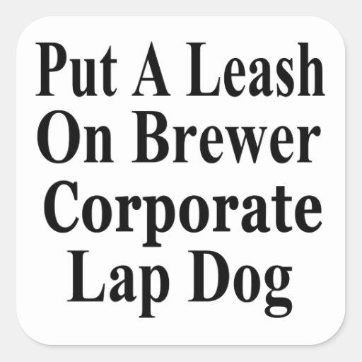 Recall Jan Brewer Evil Corporate Minion Stickers