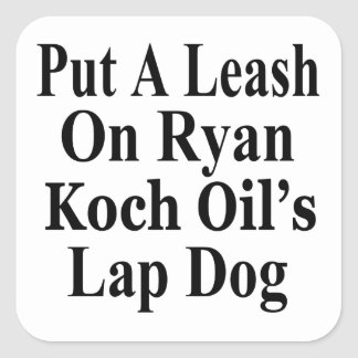 Recall Paul Ryan Koch Oil's Evil Minion Sticker