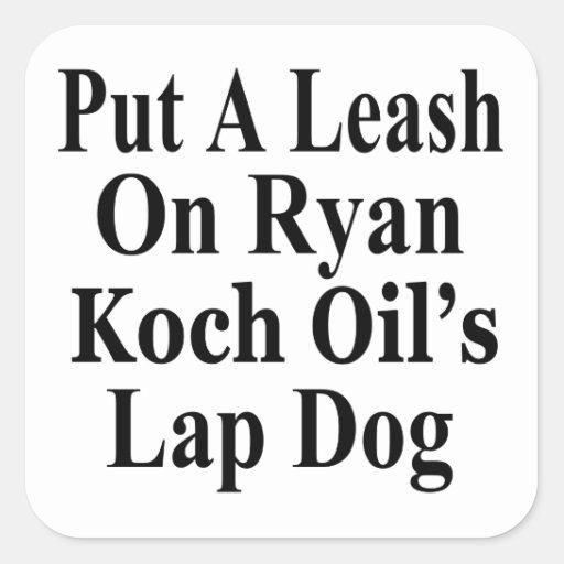 Recall Paul Ryan Koch Oil's Evil Minion Sticker