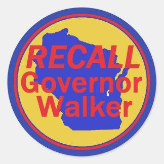 RECALL Walker Sticker