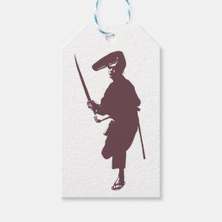 Recent samurai gift tags