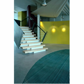 Reception area and staircase for Business Design S Standing Photo Sculpture