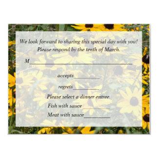Reception Card 11 Cm X 14 Cm Invitation Card
