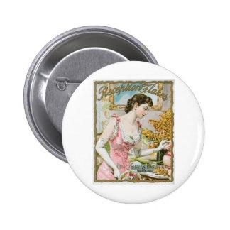 Reception Flakes Vintage Baking Ad Art 6 Cm Round Badge