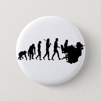Receptionist Personal Assistant Gifts and Tees 6 Cm Round Badge