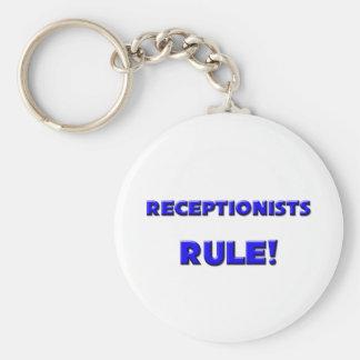 Receptionists Rule! Key Ring