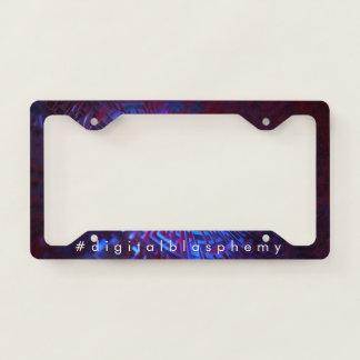 Receptor License Plate Frame