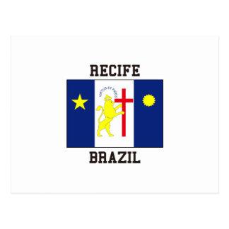 Recife Brazil Postcard