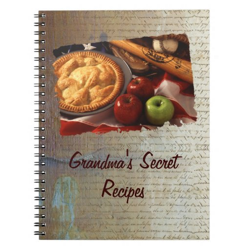 Recipe book notebooks