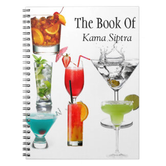 Recipe, Book Of Karma Siptra cocktail notebook
