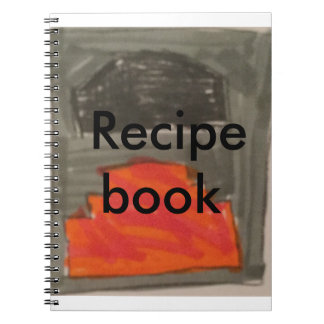 Recipe book spiral notebooks