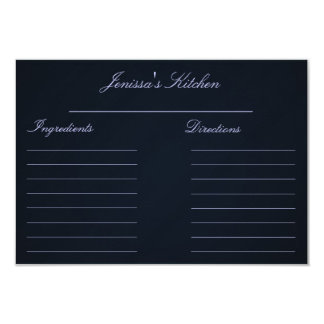 "Recipe Cards (3.5"" x 5"") 9 Cm X 13 Cm Invitation Card"