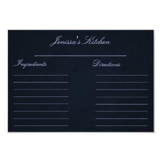 "Recipe Cards (3.5"" x 5"") 3.5"" X 5"" Invitation Card"