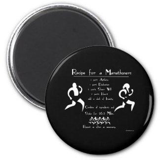 Recipe For a Marathoner Magnet