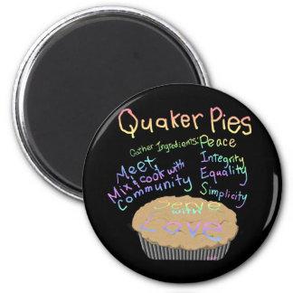 Recipe for Quaker Pies Magnet
