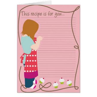 Recipe Note Card