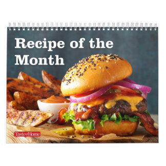Recipe of the Month Calendar