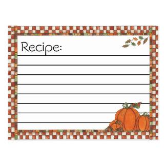 Recipe Post Cards
