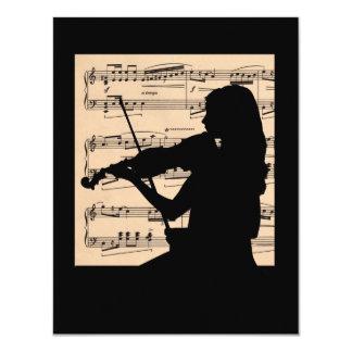 Recital 4.25 x 5.5 size card
