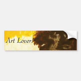 Reckless Abandon From Original Painting Bumper Sticker