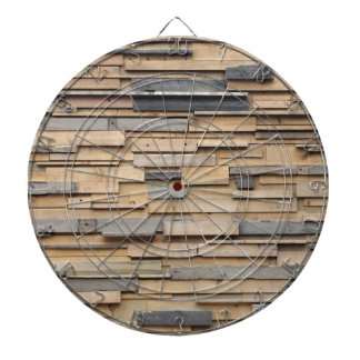 Reclaimed Wood, Sustainable Material Dart Boards