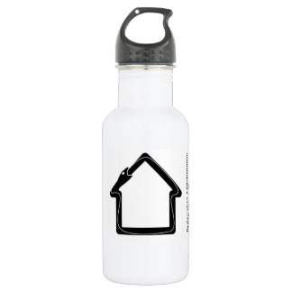 Reclamation Administration black logo. 532 Ml Water Bottle