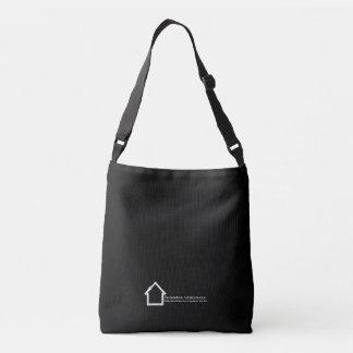 Reclamation Administration logo white on black. Crossbody Bag